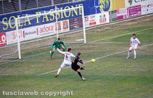 Sport - Calcio - Viterbese - Reggina - Il gol di Vandeputte