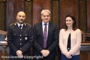 Viterbo - Conferenza per celebrare San Sebastiano, patrono polizia locale
