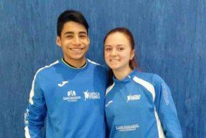 Sport - Atletica leggera - Finass Viterbo - Matteo Iannelli ed Elena Vergaro