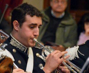 Il trombettista Matteo Costa