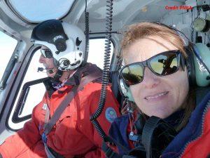 Laura Selbmann in Antartide