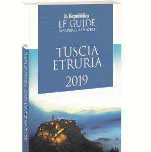 La guida di repubblica sulla Tuscia e l'Etruria