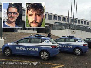 Nei riquadri Maurizio Casarelli e Camillo Lamanda