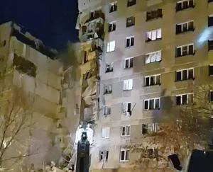 Russia - Esplosione in un palazzo a Magnitogorsk