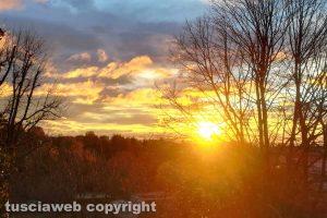 Viterbo - Il tramonto dalla Quercia