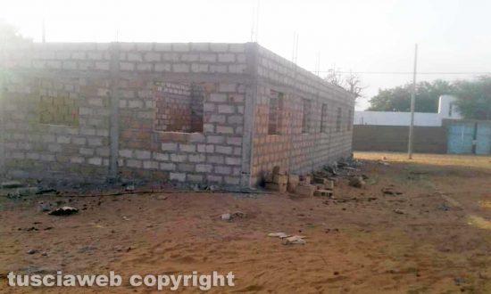 Senegal - La costruzione del centro sanitario