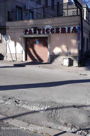Viterbo - Strisce pedonali invisibili