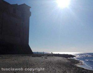 Santa Marinella - Castello e spiaggia di Santa Severa