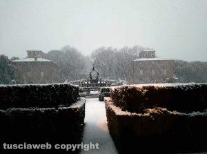 Maltempo - Bagnaia sotto la neve