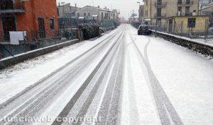 Maltempo - Montefiascone sotto la neve