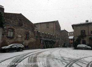 Maltempo - La neve a Viterbo