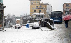 Maltempo - La neve a Montefiascone