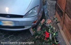 Vetralla - L'incidente di questa mattina sulla Cassia