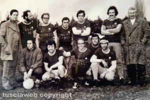 Una squadra di calcio sponsorizzata dal Mobilificio Petretti