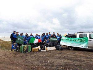 Tarquinia - San-Giorgio - Il gruppo che si è occupato della pulizia