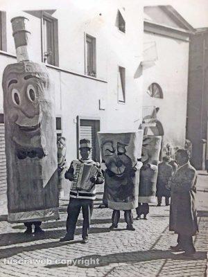 Viterbo - Anni '50 - Carnevale in via della Bontà