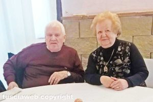 Capranica - Ugo Consalvi e Marcella Battisti