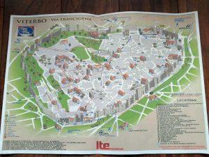 Realizzata da studenti e insegnanti la mappa locale della via Francigena