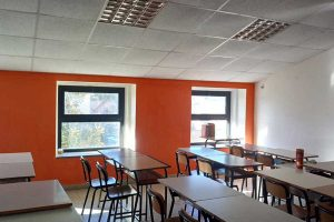 Vetralla - Un'aula della scuola media