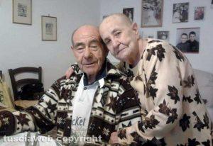 Enzo Capaldo, con la moglie Elena Gai