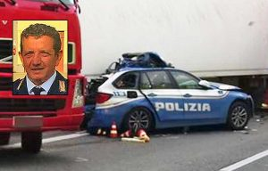 Messina - Incidente sull'autostrada A18 - Nel riquadro: Angelo Gabriele Spadaro