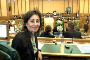 La consigliera regionale M5S Silvia Blasi
