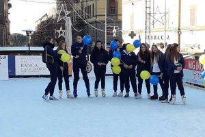 "Sport - L'evento ""Vbc on ice"""