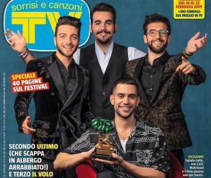La copertina di Sorrisi e Canzoni Tv senza Ultimo