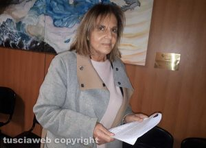 La presidente nazionale dell'Enpa, Carla Rocchi