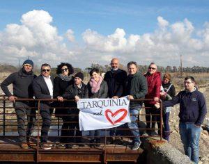 Tarquinia - Il sopralluogo di Pirozzi alle Saline