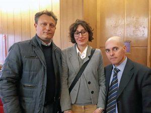Roma - Silvia Blasi alla 12esima commissione regionale