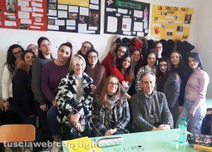 Istituto Santa Rosa - La classe quarta del professor Ugo Longo