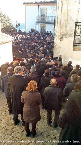 Nocara - I funerali di Maria Sestina Arcuri