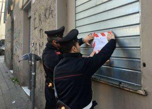 Civitavecchia - I carabinieri mettono i sigilli al forno