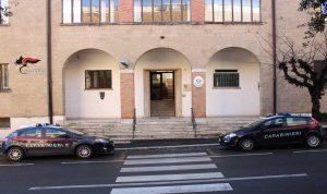 I carabinieri di Orvieto alla stazione