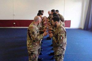 Viterbo - L'attività di formazione esperienziale alla scuola sottufficiali