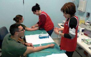 Gli allievi marescialli impegnati nelle donazioni di midollo