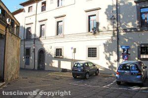 Viterbo - Gli alloggi popolari comunali in via dei Pellegrini