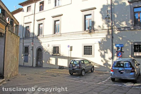 Viterbo - Gli alloggi popolari in via dei Pellegrini