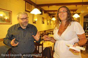 Rachele Faggiani con Carlo Galeotti