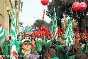 Cisl - Manifestazione sindacale
