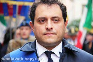 Viterbo - Il vice presidente della provincia Fabio Valentini
