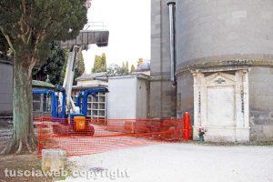 Viterbo - Partono i lavori alla chiesa di San Lazzaro