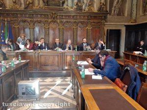 Viterbo - Consiglio comunale straordinario su Talete