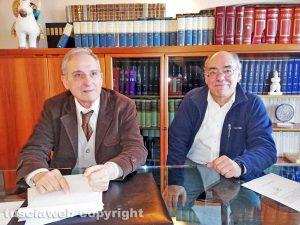 Viterbo - Enrico Mezzetti e Pierluigi Ortu