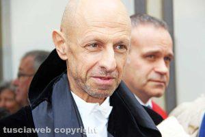 Viterbo - Il rettore Alessandro Ruggieri