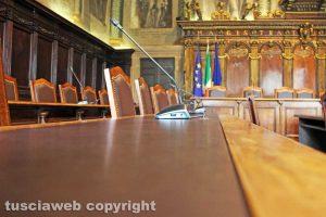 Viterbo - Sala del consiglio comunale