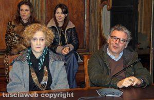 Lina Delle Monache e Francesco Serra