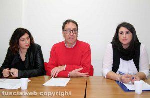 Martina Minchella, Bruno Astorre e Luisa Ciambella