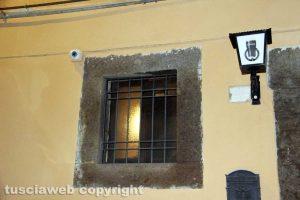 Viterbo - Le telecamere in piazza Sallupara